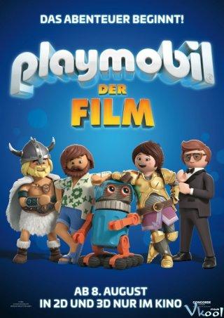 Marla Lạc Vào Thế Giới Playmobil - Playmobil: The Movie Việt Sub (2019)