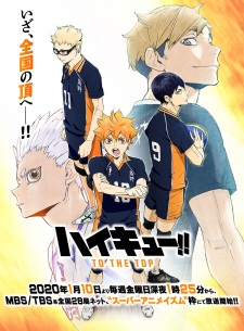 Haikyuu!!: To The Top: Haikyuu!! (2020) - Haikyuu!! Fourth Season, Haikyuu!! 4Th Season