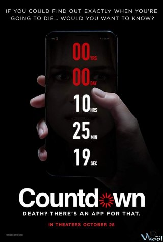 Ứng Dụng Tử Thần Countdown.Diễn Viên: Dan Palmer,Antonia Bernath,Tamaryn Payne