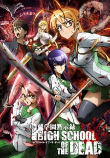 Highschool Of The Dead Gakuen Mokushiroku: Hotd, Hsotd