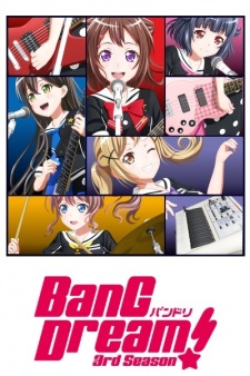 Bang Dream! 3Rd Season Third Season Of Bang Dream! Series.Diễn Viên: Ochifuru