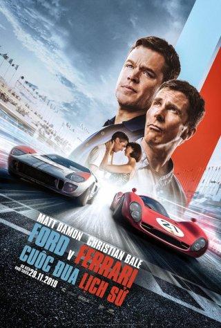 Cuộc Chiến Xe Đua Ford V Ferrari