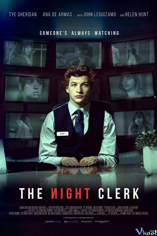 Thư Ký Đêm (Ca Đêm) The Night Clerk.Diễn Viên: Christian Bale,Eva Longoria,Freddy Rodríguez,Chaka Forman,Tammy Trull,Jk Simmons,Michael Monks