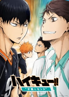 Haikyuu!! Movie 3: Sainou To Sense Genius And Sense, Haikyuu!! Recap 3.Diễn Viên: Yôichirô Saitô,Kanako Masuda,Machiko Ono