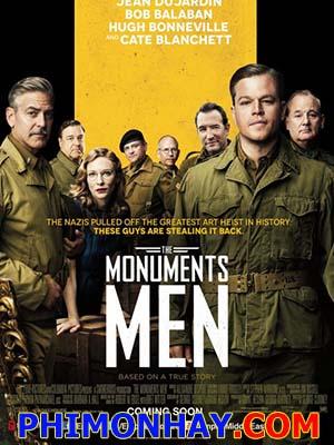 Cổ Vật Bị Đánh Cắp The Monuments Men.Diễn Viên: George Clooney,Matt Damon,Cate Blanchett