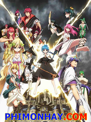 Vương Quốc Phép Thuật Magi: The Kingdom Of Magic 2.Diễn Viên: Kamiya Hiroshi,Uchida Maaya,Kaji Yuki