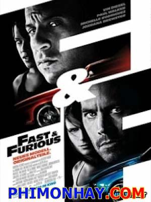Quá Nhanh Quá Nguy Hiểm 4 Fast And Furious 4.Diễn Viên: Vin Diesel,Paul Walker,Tyrese Gibson,Dwayne Johnson