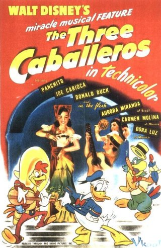 Ba Quý Ông The Three Caballeros.Diễn Viên: John S Flynn,Heather Gordon,Aaron Krebs