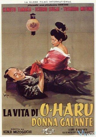 Cuộc Đời Của Oharu - The Life Of Oharu Việt Sub (1952)