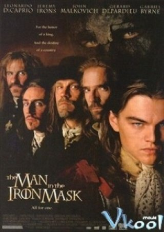 Mặt Nạ Sắt The Man In The Iron Mask.Diễn Viên: Garret Dillahunt,Jason Momoa,Jill Wagner