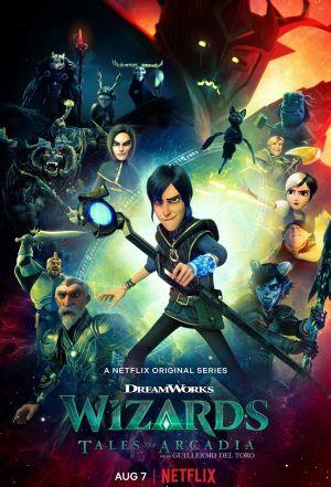 Pháp Sư: Chuyện Xứ Arcadia Wizards: Tales Of Arcadia.Diễn Viên: Alon Aboutboul,Andy Garcia,Diego Luna