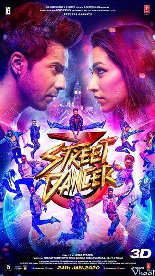 Vũ Điệu Đường Phố 3D Street Dancer 3D.Diễn Viên: Alexis Thorpe,Maxwell Caulfield,Todd Jensen
