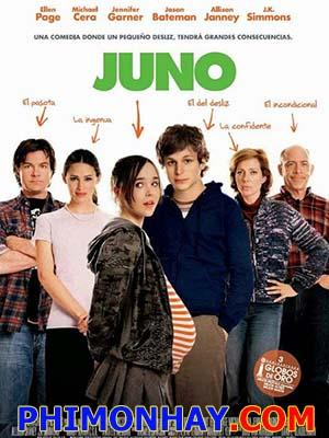 Ăn Cơm Trước Kẻng Dính Bầu: Juno.Diễn Viên: Ellen Page,Michael Cera,Jennifer Garner