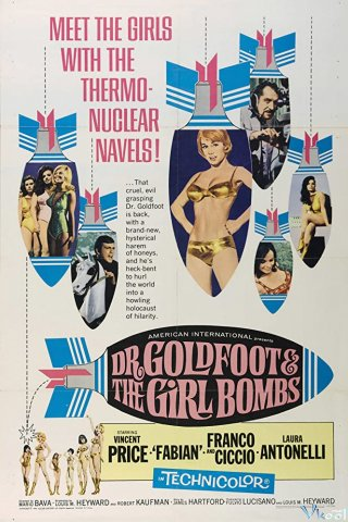 Robot Tự Sát Dr. Goldfoot And The Girl Bombs.Diễn Viên: James Earl Jones