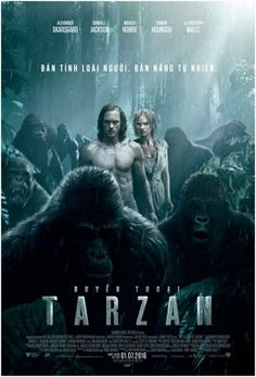 Huyền Thoại Tarzan The Legend Of Tarzan