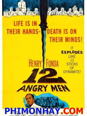 12 Người Đàn Ông Giận Dữ 12 Angry Men.Diễn Viên: Henry Folee J Cobb,Eg Marshall,Jack Klugman