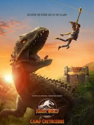 Thế Giới Khủng Long: Trại Kỷ Phấn Trắng Jurassic World: Camp Cretaceous.Diễn Viên: Kiernan Shipka,Miranda Otto,Stanley Tucci