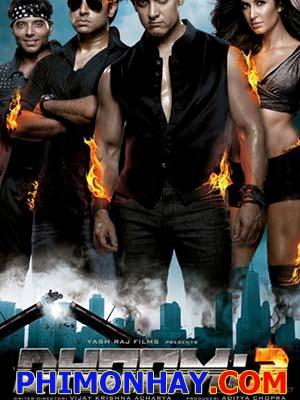 Điệp Vụ Thần Tốc: Dhoom 3 Những Tay Đua Siêu Hạng 3.Diễn Viên: Aamir Khan,Katrina Kaif,Abhishek Bachchan