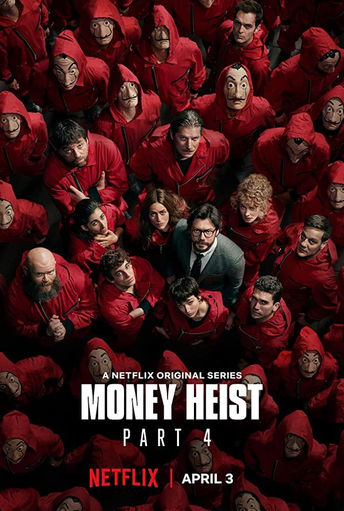Phi Vụ Triệu Đô Phần 4 Money Heist Season 4.Diễn Viên: Ori No Mukou Ni