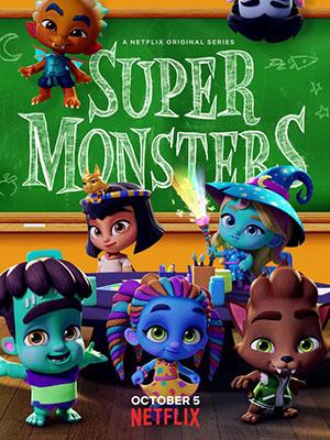 Hội Quái Siêu Cấp 3 Super Monsters 3.Diễn Viên: Andrea Libman,Erin Mathews,Vincent Tong