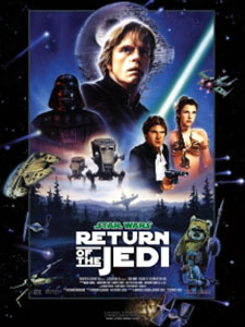 Chiến Tranh Các Vì Sao 6: Sự Trở Lại Của Jedi Star Wars 6: Return Of The Jedi.Diễn Viên: Mark Hamill,Carrie Fisher,Harrison Ford,Billy Dee Williams,Anthony Daniels