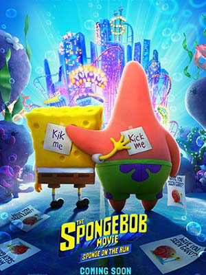 Spongebob: Bọt Biển Đào Tẩu The Spongebob Movie: Sponge On The Run.Diễn Viên: Jue Shi Wu Hun