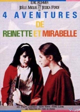 Bốn Cuộc Phiêu Lưu Của Reinette Và Mirabelle Four Adventures Of Reinette And Mirabelle