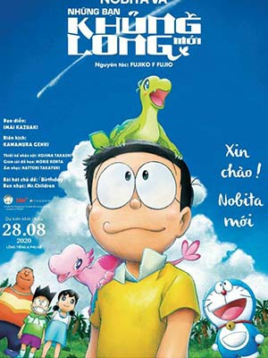 Nobita Và Những Bạn Khủng Long Mới - Doraemon The Movie: Nobitas New Dinosaur Thuyết Minh (2020)
