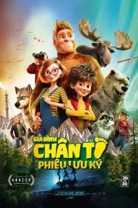 Gia Đình Chân To Phiêu Lưu Ký Bigfoot Family
