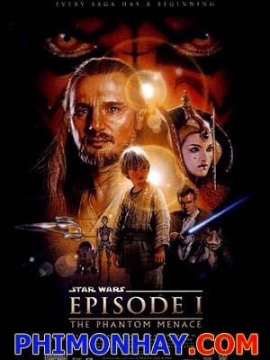 Chiến Tranh Giữa Các Vì Sao 1: Bóng Ma Đe Dọa Star Wars 1: The Phantom Menace.Diễn Viên: Ewan Mcgregor,Liam Neeson,Natalie Portman