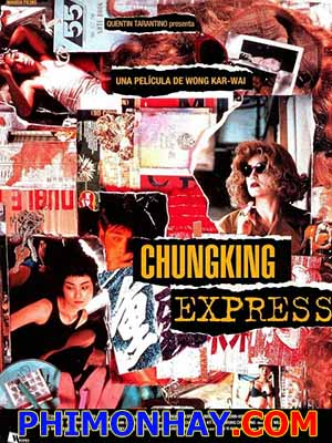 Trùng Khánh Sâm Lâm Chungking Express.Diễn Viên: Brigitte Lin,Takeshi Kaneshiro,Tony Leung Chiu Wai