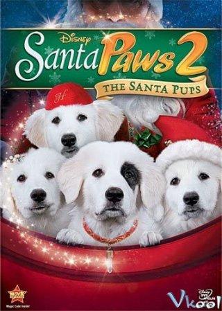 Câu Chuyện Về Santa Pups Santa Paws 2: The Santa Pups.Diễn Viên: Salma Hayek,Adam Sandler,Kevin James,Rob Schneider,Chris Rock