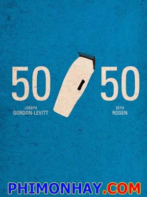 Hên Xui 50 / 50.Diễn Viên: Joseph Gordon,Levitt,Seth Rogen,Anna Kendrick