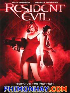 Vùng Đất Quỷ Dữ 1 Resident Evil 1: Hang Quỷ.Diễn Viên: Colin Salmon,Milla Jovovich,Michelle Rodriguez,Eric Mabius,James Purefoy,Martin Crewes,Ryan