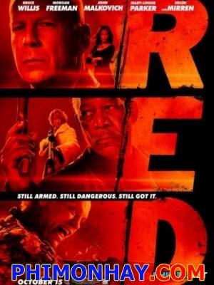 Cia Tái Xuất Red.Diễn Viên: Bruce Willis,Mary Louise Parker,Morgan Freeman