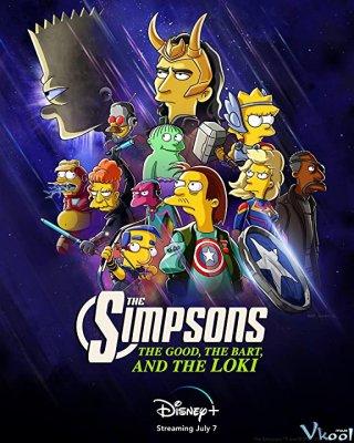 Băng Đảng Loki - The Simpsons The Good, The Bart, And The Loki