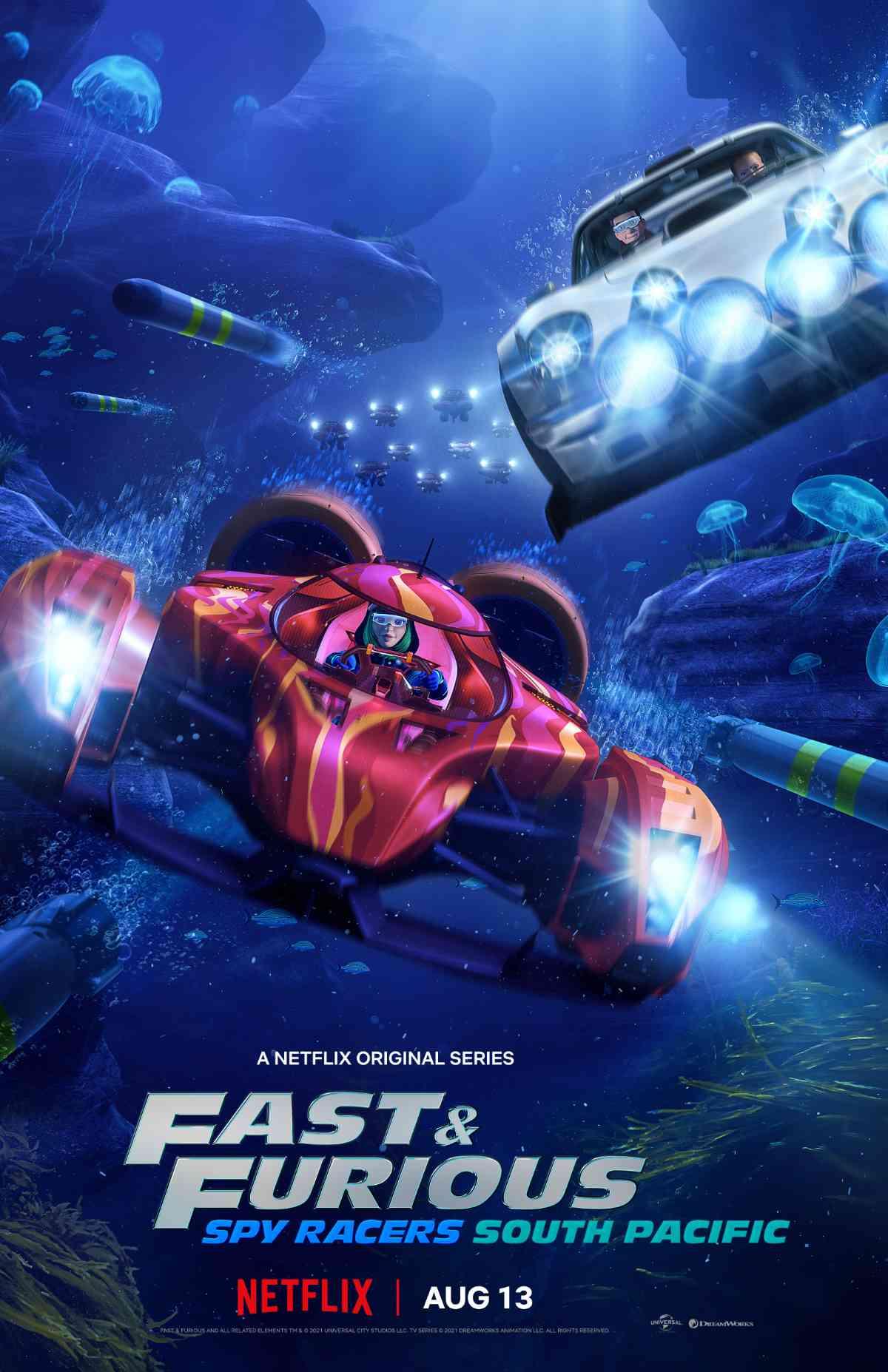 Quá Nhanh Quá Nguy Hiểm: Điệp Viên Tốc Độ 5: Nam Thái Bình Dương Fast & Furious: Spy Racers - South Pacific.Diễn Viên: Tensei Shite Shison,Tachi No Gakkou E