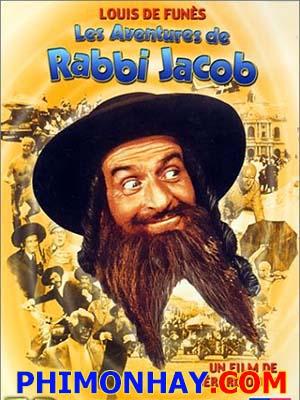 Cuộc Phiêu Lưu Của Giáo Sĩ Jacob The Mad Adventures Of Rabbi Jacob.Diễn Viên: Louis De Funès,Miou,Miou,Suzy Delair