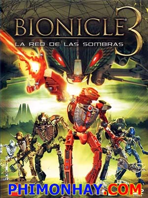 Chiến Binh Bionicle 3: Bóng Ma Vũ Trụ Bionicle 3: Web Of Shadows.Diễn Viên: Michael Dorn,Jim Cummings,Marla Sokoloff,David