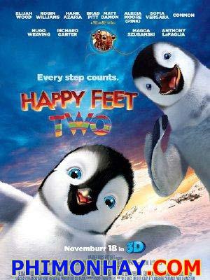 Vũ Điệu Chim Cánh Cụt 2 Happy Feet Two.Diễn Viên: Elijah Wood,Robin Williams