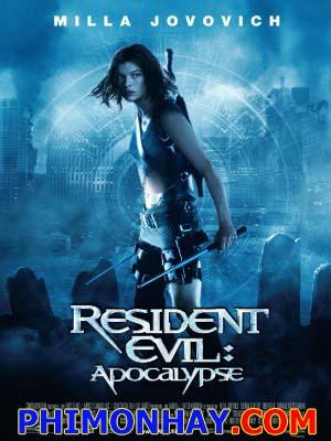 Vùng Đất Quỷ Dữ 2: Tận Thế Resident Evil 2: Apocalypse.Diễn Viên: Milla Jovovich,Sienna Guillory,Eric Mabius