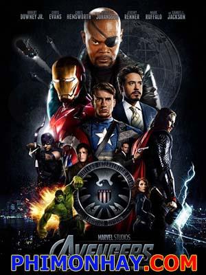Biệt Đội Siêu Anh Hùng The Avengers.Diễn Viên: Robert Downey Jr,Chris Evans,Scarlett Johansson
