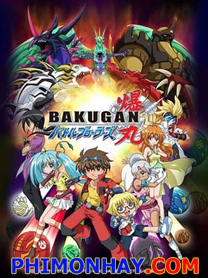 Chiến Binh Bakugan 1 - Bakugan Battle Brawlers Season 1