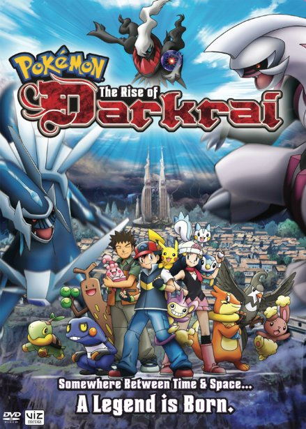 Pokemon Movie 10: Dialga Vs Palkia Vs Darkrai Sự Trỗi Dậy Của Darkai: The Rise Of Darkrai.Diễn Viên: Ikue Otani,Mayuki Makiguchi,Phim Mới,Rica Matsumoto,Yūki Kaji