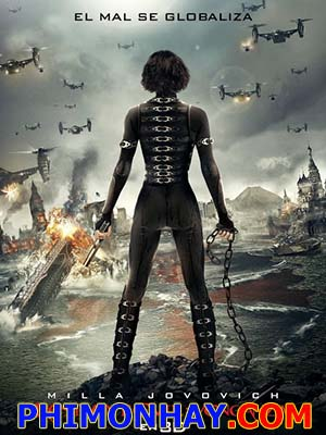 Vùng Đất Quỷ Dữ 5: Báo Thù Resident Evil 5: Retribution.Diễn Viên: Milla Jovovich,Sienna Guillory,Michelle Rodriguez