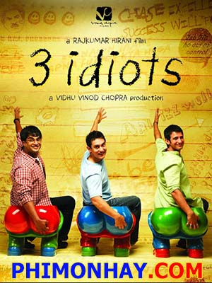 Ba Chàng Ngốc 3 Idiots.Diễn Viên: Aamir Khan,Kareena Kapoor,Madhavan