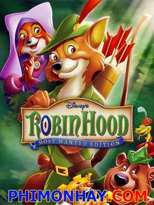 Hiệp Sĩ Rừng Xanh Robin Hood.Diễn Viên: Roger Miller,Peter Ustinov,Brian Bedford