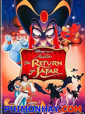 Sự Trở Lại Của Jafar Aladdin: The Return Of Jafar.Diễn Viên: Mark Hamill,Carrie Fisher,Harrison Ford,Billy Dee Williams,Anthony Daniels