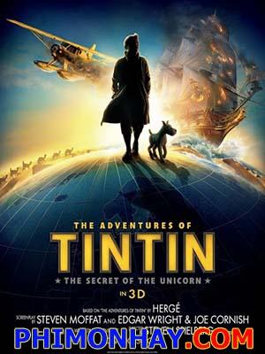 Những Cuộc Phiêu Lưu Của Tintin The Adventures Of Tintin: Bí Mật Kỳ Lân Biển.Diễn Viên: Jamie Bell,Andy Serkis,Daniel Craig