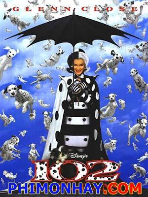 102 Chú Chó Đốm - 102 Dalmatians